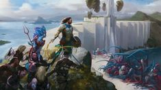 Battle for Zendikar - Art for Magic the Gathering