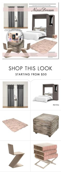 """""""NixieDream3-Docking station"""" by stranjakivana ❤ liked on Polyvore featuring interior, interiors, interior design, home, home decor, interior decorating, Bestar, Uttermost, Cassina and wallclock"""