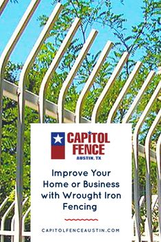 Improve Your Home or Business with Wrought Iron Fencing - See how ornamental wrought iron fence installation improves the look of your home or business property in Austin, Texas