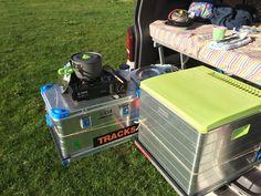 Selbstbauanregung Heckauszug 2.0 jederzeit Zugang zum gesamten Gepäck im VW T5. Mit 2 Schubladen - Traglast je Seite 120 kg. Mit Video