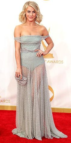 julianne hough // 2013 Emmys // something that  went terribly wrong on the bottom half