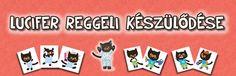 Lucifer reggeli készülődése - 3-7 éveseknek. Minion, Books, Kids, Young Children, Libros, Boys, Book, Minions, Children