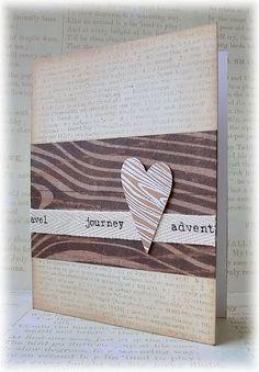 Inspirace... Zbytečky papíru - co s nimi?   Pretty Papers - přáníčka, scrapbook, tvoření z papíru... Paper Crafts, Birds, Love Cards, Tissue Paper Crafts, Paper Craft Work, Papercraft, Bird, Paper Art And Craft, Paper Crafting