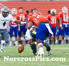 Parkview 7, Norcross 21.