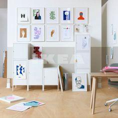 new Ikea storage cabinets Ikea Furniture, Home Office Furniture, Cool Furniture, Furniture Stores, Ikea Inspiration, Shopping Ikea, Ikea Portugal, Hacks Ikea, Ikea Storage Cabinets