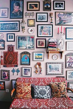 Delightful Art Wall With Tons Of Character. Fitzroy Gastrobar Di Central Jakarta.  Bohemian / Eclectic Vintage Vibe Cafe. | Isabella V Silalahi | VSCO Grid
