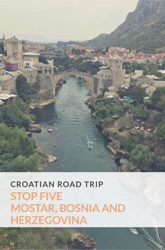 Stop 5 - Mostar, Bosnia and Herzegovina, European road trip. A one night stop over and a change of pace from Croatia exploring a new town and country. take a look..… #Wanderlust #TravelBlogger   #Europe