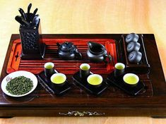 I love this tea custom.  The tea used is so aromatic that they use small tall cup just to savor the aroma of the tea.