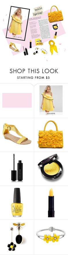"""""""Hello spring 🌻🐝"""" by irmaa11 ❤ liked on Polyvore featuring ASOS, Kenneth Cole Reaction, Marc Jacobs, OPI and Hermès"""