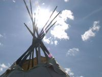 Charlie Letendre teaches us about the traditional use of Teepee's.
