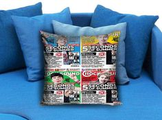 5 Second Of Summer Rock Sound Pillow Case #pillow #case #pillowcase #custompillow #custom