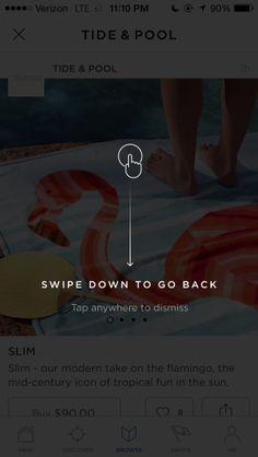 Swipe Down