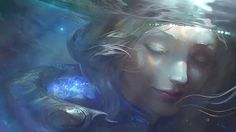 Elementalist Lux Water Art Wallpaper