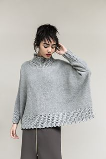 Available as a sweater or cardigan ~ Boxy Haven by Martin Storey