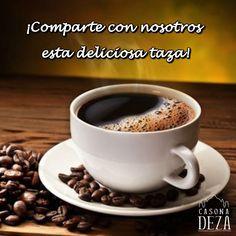 ¿Tú también compartes el gusto de terminar el día con un buen café?.