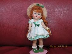 Drop dead gorgeous vintage vogue strung Ginny Lucy doll all original ,NO RESERVE #DollswithClothingAccessories