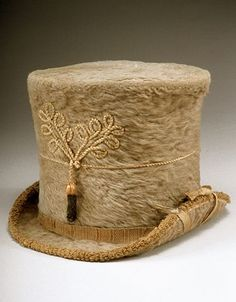 A rather unique riding hat from circa. 1810.