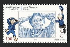 L is for Lindgren - Astrid Lindgren, author of Pippi Longstocking, Emil and much more!