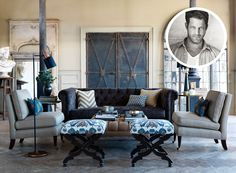 Nate Berkus for Calico   Rue  FIRST LOOK: Nate Berkus for Calico  Designer extraordinaire, Nate Berkus debuts his fabric line with Calico and we've got the inside scoop!