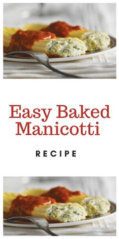 Gamberonis with pepper & lemon, fennel & tangy pistou - Healthy Food Mom Easy Manicotti Recipe, Baked Manicotti, Cheese Manicotti, Manicotti Pasta, Stuffed Manicotti, Italian Dishes, Italian Recipes, Mexican Food Recipes, Sweets
