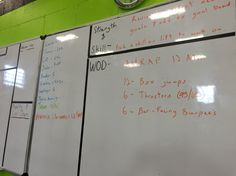 Crossfit WOD. I felt really good in this WOD. 6 rounds 12 reps RX.