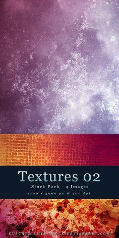 Textures 02 - Stock Pack by =kuschelirmel-stock on deviantART