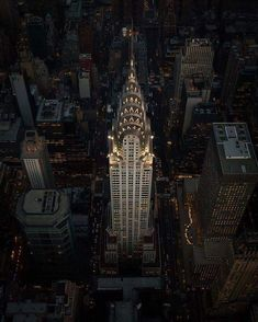 The Chrysler Building,a masterpiece of art deco architecture
