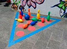And Creative Ideas for School Gardens Playground Painting, Playground Games, Backyard Playground, Outdoor Classroom, Outdoor School, Asphalt Games, Diy For Kids, Crafts For Kids, Recess Games