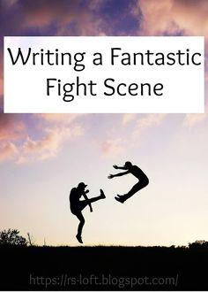 Writing a Fantastic Fight Scene Creative Writing Tips, Book Writing Tips, Writing Lessons, Writing Resources, Writing Help, Writing Skills, Writing Prompts, Writing Workshop, Math Lessons