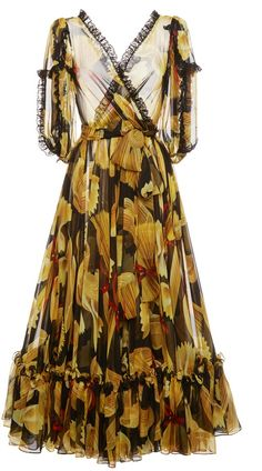 A chiffon maxi dress you can wear day or night!