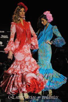 """Flamencas """"Errantes"""" de #PilarVera en #Simof2014"""