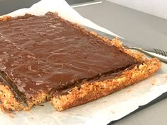 Glutenfria havrerutor med choklad A Food, Food And Drink, Gluten Free Cakes, Foods With Gluten, Something Sweet, Biscotti, Sweet Tooth, Bakery, Sweet Treats
