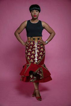Zizibespoke Red Peplum Pleats full Skirt is bound to make you the talk of the town   Sewn to the highest standard, suitable for a variety of occasions. This item is handmade in 7-10 working days before shipping unless a rush order is purchased Please start an etsy conversation if you have any inquiries about the item.