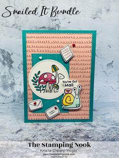 Snail Cards, Book Crafts, Paper Crafts, Scrapbook Cards, Scrapbooking, Stamping Up Cards, Snail Mail, Card Kit, Cute Cards