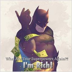 """Flash: """"What are your superpower again?"""" Batman: """"I'm Rich""""  Like a BOSS lmao. From new Justice League movie. #justiceleague #batman #likeaboss"""