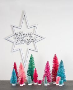 items similar to mid century modern wooden cutout star atomic christmas decoration sign merry and bright retro sign modern minimalist christmas decor - Modern Christmas
