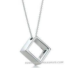 Open Cube Pendant & Necklace 1_1