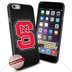NC State Wolfpack, Logo NCAA Sunshine#2120 Cool iPhone 6 - 4.7 Inch Smartphone Case Cover Collector iphone TPU Rubber Case Black SUNSHINE-HAPPY http://www.amazon.com/dp/B011SH7Y1Q/ref=cm_sw_r_pi_dp_OKH.vb160EX60