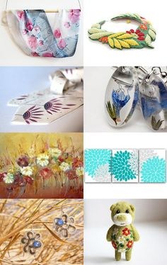 FLOWERS by Daiva Karsokienė on Etsy--Pinned with TreasuryPin.com
