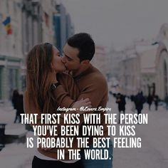 Kissing Quotes For Him, First Kiss Quotes, Couples Quotes Love, Couple Quotes, Couples In Love, Good Relationship Quotes, Real Friendship Quotes, First Relationship, Relationships