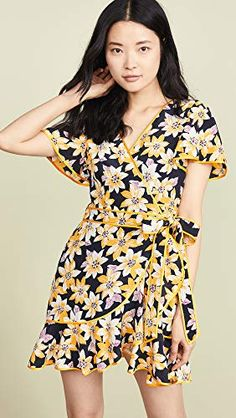 c979ee81faae13 Beautiful Cinq a Sept Floral Cameron Dress Womens Dresses from top store