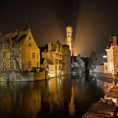 The World's 24 Most Romantic Destinations on Instagram | Bruges, Belgium | FATHOM