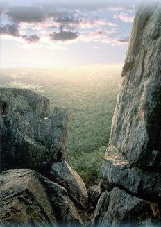 Crowders Mountain near Gastonia, NC...Great hike with beautiful vista.