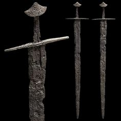 """Central European Medieval Sword 1100 AD, 35.8"""" overall"""