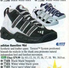 Adidas Baseline Mid Basketball Shoe 1996
