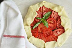 Tomato Mozzarella Galette, unbaked