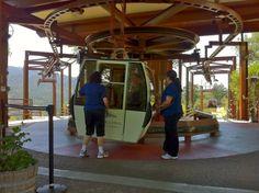 Gondola at Sterling Vineyards in Calistoga