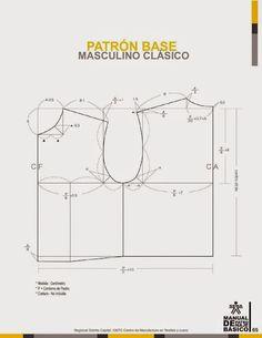 modelist kitapları: Manual-de-Patronaje-Basico-e-Interpretacion-de-Disenos Girl Dress Patterns, Clothing Patterns, Sewing Patterns, Pattern Cutting, Pattern Making, Pants Pattern, Top Pattern, Pattern Drafting Tutorials, Crochet Baby Jacket