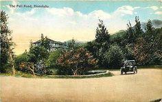 Honolulu Hawaii HI 1909 Pali Road Collectible Antique Vintage Postcard – Moodys Vintage Postcards
