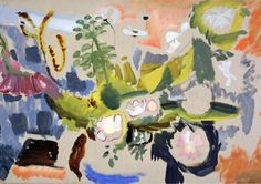 Ivon Hitchens: The Painter in the Woods - Garden Museum Garden Studio, Garden Art, Sussex Gardens, Action Painting, Museum, Garden In The Woods, World Of Interiors, Colorful Paintings, Landscape Paintings